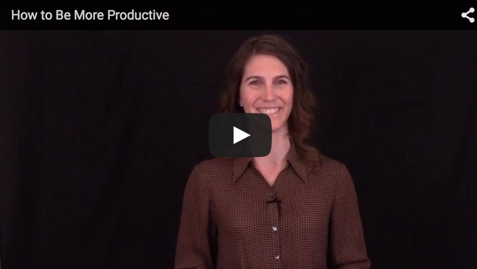 How To Be More Productive and Motivated